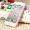 best Cool Rabbit Style Diamonds Plastic Shell Case for iPhone 5 with Mirror