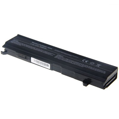 PA3465 High Capacity 5200mAh 10.8V Replacement Laptop Battery for TOSHIBA PA3465/PABA3069//A135/PA3465U-1BAS (Black)