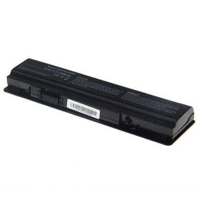 A840 High Capacity 5200mAh 11.1V Replacement Laptop Battery for DELL vostro1410/1014/1015/1088/A840/A860/PP38L (Black)