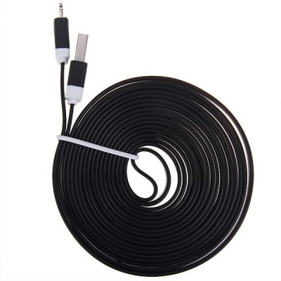 Cool Noodle Design  8 Pin 3M Sync Charger Cable for iPhone 5/5SiPhone Cables &amp; Adapters<br>Cool Noodle Design  8 Pin 3M Sync Charger Cable for iPhone 5/5S<br><br>Compatibility: iPhone 5S, iPhone 5, iPhone 5C<br>Type: Cable<br>Interface type: 8 Pin<br>Cable length (cm)  : 3M<br>Package weight : 0.08 kg<br>Package size (L x W x H) : 11 x 9 x 2 cm<br>Package Contents: 1 x USB Cable