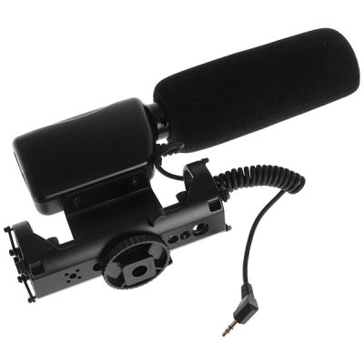 NA - Q7 Professional DV Stereo Microphone for Canon/Nikon/Sony