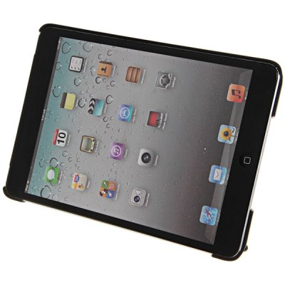 Multi - purpose Transformer Tablet Stand Leather and Plastic Case for iPad Mini