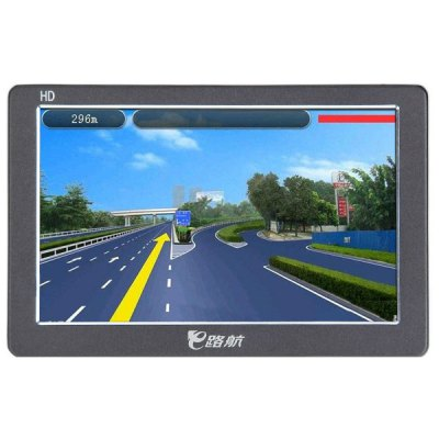 ERODA 500+ 5.0 inch TFT Touch Screen 4GB Car GPS Navigator with Multimedia Function