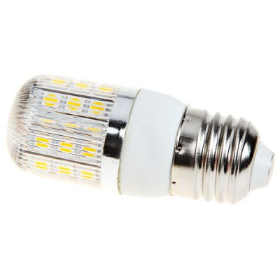 E27 36 - SMD 5050 LED 85 - 265V Warm White Corn LampLED Light Bulbs<br>E27 36 - SMD 5050 LED 85 - 265V Warm White Corn Lamp<br><br>Base Type: E27<br>Type: Corn Bulbs<br>Emitter Type: 5050 SMD LED<br>Total Emitters: 36<br>Voltage (V): AC85-265<br>Features: Energy Saving, Low Power Consumption<br>Function: Studio and Exhibition Lighting, Home Lighting, Commercial Lighting<br>Available Light Color: Warm White, Natural White<br>Sheathing Material: Plastic<br>Package Weight: 0.05 kg<br>Package Size (L x W x H): 11 x 4.5 x 4.5 cm<br>Package Contents: 1 x Corn Lamp