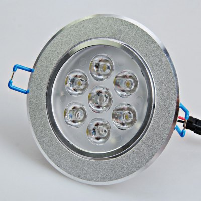 AC180V - 240V 7W White Light Ceiling Lamp