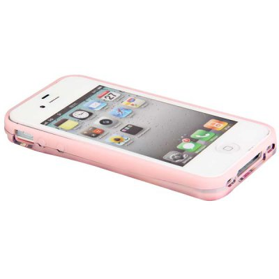 Гаджет   i - Glow New Style Silicone and Polycarbonate Back Case Cover for iPhone 4 / 4S  -  Numberal Pattern