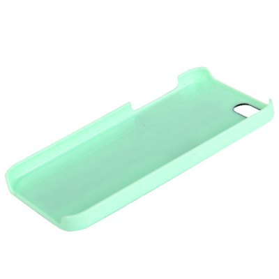 Cool Cross Rivets Studs Hard Plastic Case Cover for iPhone 5 - Green