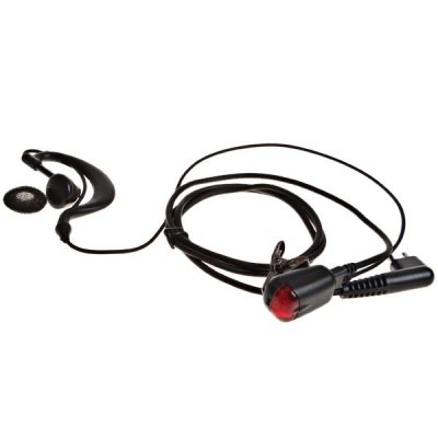 Good Quality Walkie Talkie Earphone with M Interface (Black)