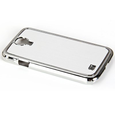 ФОТО Metal Brushed Style Plastic Hard Shell Case for Samsung Galaxy S4 i9500 / i9505