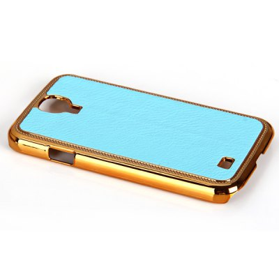 ФОТО Litchi Style Artificial Leather and Plastic Hard Shell Case for Samsung Galaxy S4 i9500 / i9505