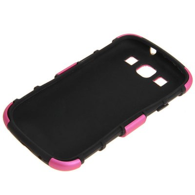 2 in 1 Plastic and Silicone Hybrid Case Cover with Fashion Design for Samsung Galaxy S3 i9300