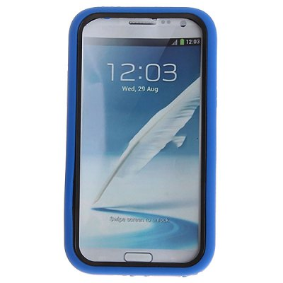 Stylish Design Hard Plastic Case Support Function for Samsung Galaxy Note 2 N7100