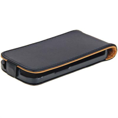 Durable Vertical Magnet Flap PU Leather Plastic Case for Samsung Galaxy S Duos S7562
