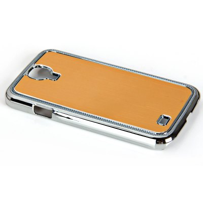 Metal Brushed Style Plastic Hard Shell Case for Samsung Galaxy S4 i9500 / i9505