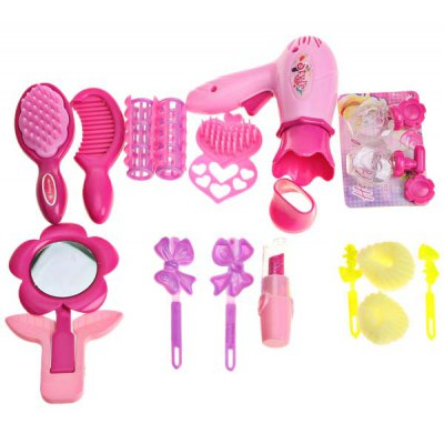 New Style Cute Hair Beauty - Mirror, hair drier and Comb Included