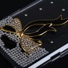 Ribbon Diamonds Plastic Case for Samsung Galaxy Note 2 N7100 for sale