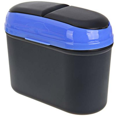 Universal Hang - on Car Trash Bin Can Garbage Dust Case HolderCar Decorations<br>Universal Hang - on Car Trash Bin Can Garbage Dust Case Holder<br><br>Type: Car Trash Bin<br>Product weight   : 0.160 kg<br>Package weight   : 0.260 kg<br>Product size (L x W x H)  : 17.0 x 8.0 x 15.0 cm<br>Package size (L x W x H)  : 20.0 x 10.0 x 14.0 cm<br>Package Contents: 1 x Car Trash Bin, 1 x Hanger