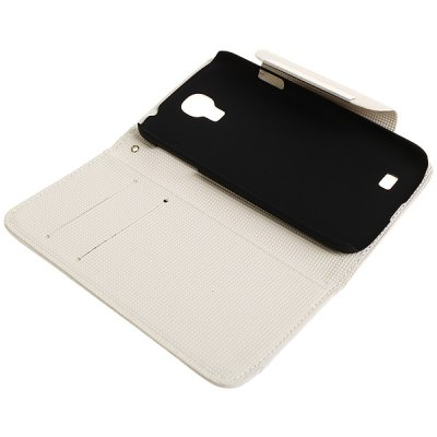 ФОТО PU Leather and Plastic Material Flip and Card Slot Case for Samsung Galaxy S4 i9500 / i9505