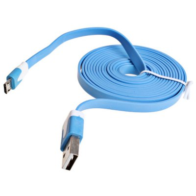 2m Noodle Style Micro USB Cable