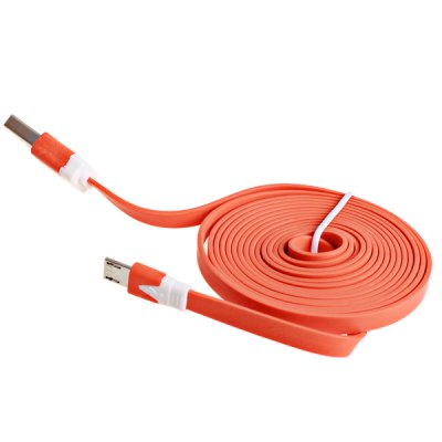 Гаджет   2m Noodle Style Micro USB Cable with Noodle Appearance Design Samsung Cables & Adapters