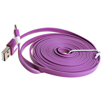 3m Noodle Style Micro USB Cable with Noodle Appearance Design