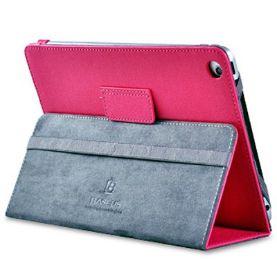 Baseus Popular Style PU Leather Case for iPad Mini with Flip Stand