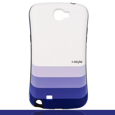 Relievo Painting Gradual Color PVC Case for Samsung Galaxy Note 2 N7100