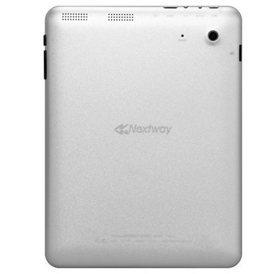8 inch Nextway F8X Android 4.1 Tablet PC Quad Core 1.2GHz WiFi Dual Cameras 8GB - Silver