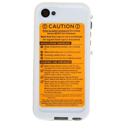 Гаджет   Waterproof Plastic Case Cover for for iPhone 5 with Cool Design iPhone Cases/Covers