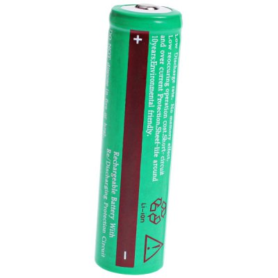 Гаджет   TangsFire 18650 3.7V 3600mAh Li-ion Rechargeable Battery - 1-Pack, Green, without Protection Board Batteries