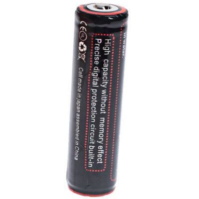 Здесь можно купить   TangsFire 18650 3.7V 2900mAh Li-ion Rechargeable Battery - 1-Pack, Black, with Protection Board