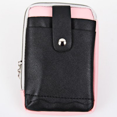 Гаджет   Cute Zipper Design Universal Mobile Phone Leather Pouch Case with Shoulder Strap Other Cases/Covers