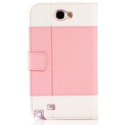 K.win Wallet Stand Case for Samsung Galaxy Note 2 N7100