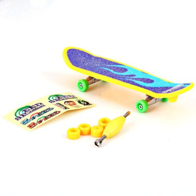 Гаджет   Fashion Desktop Game Finger Skate Board with Replaceable Wheels Educational Toy Classic & Retro Toys