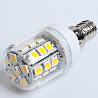 E14 27 - SMD 5050 LED 220 - 240V Warm White Corn Lamp
