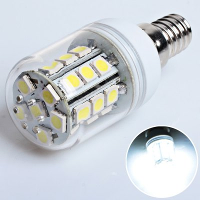 E14 27 - SMD 5050 LED 110 - 130V White Corn Lamp