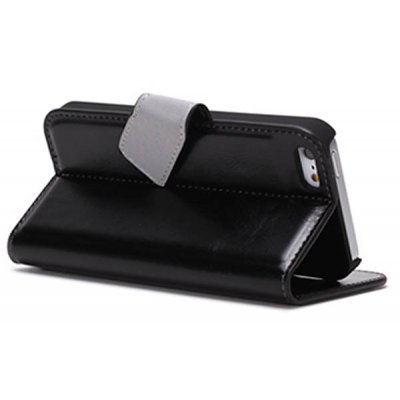 Xundd Flip Wallet Stand Case for iPhone 5