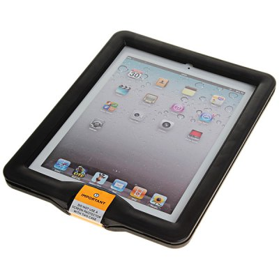 Stylish Sleek Inclosed Waterproof Protective Plastic Case for iPad 2 / 3 / 4 - BlackiPad Cases/Covers<br>Stylish Sleek Inclosed Waterproof Protective Plastic Case for iPad 2 / 3 / 4 - Black<br>
