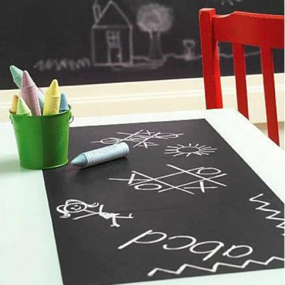 Vinyl Blackboard Home Sticker Removable Wall Decal Chalkboard Stickers 60 x 100cmHome Gadgets<br>Vinyl Blackboard Home Sticker Removable Wall Decal Chalkboard Stickers 60 x 100cm<br>