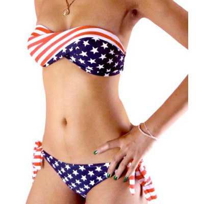 Sexy American Flags Painted Divided Type Design Womens SwimwearSwimwear<br>Sexy American Flags Painted Divided Type Design Womens Swimwear<br><br>Material: Polyester<br>Pattern Type: Print<br>Style: Active<br>Weight: 0.400KG<br>Package Contents: 1 x Panty         1 x Bra