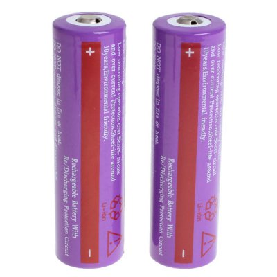 TangsFire 18650 Rechargeable Battery 3.7V 3200mAh Li - ion without Protection Board