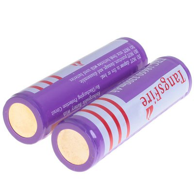 TangsFire 18650 Rechargeable Battery 3.7V 3200mAh Li - ion with Protection Board