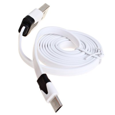 1m Micro USB Cable with Noodle Style