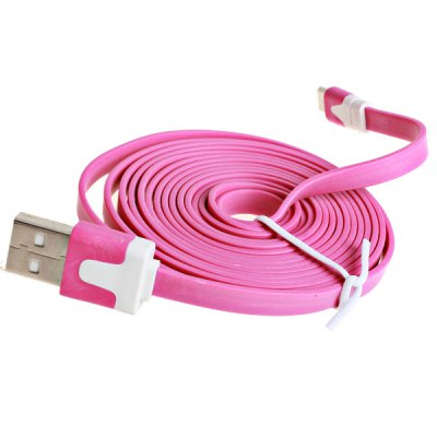 2m Noodle Style Micro USB Cable with Noodle Appearance DesigniPhone Cables &amp; Adapters<br>2m Noodle Style Micro USB Cable with Noodle Appearance Design<br><br>Mainly Compatible with: SAMSUNG,HTC,Nokia,Blackberry,Sony<br>Interface Type: Micro USB<br>Cable Length (cm): 200 cm<br>Product weight: 0.034 kg<br>Package weight: 0.080 kg<br>Package Contents: 1 x Cable