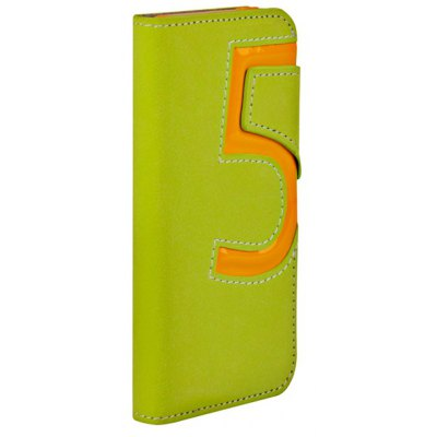 Baseus Flip Style Number Five PU Leather + TPU Case Cover with Stand for iPhone 5