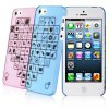 cheap 2PCS Baseus Lovers Style Romantic Ultrathin Plastic Shell Case for iPhone 5