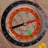 DC45-5C High Quality Ruler Map Compass with Lanyard for Outdoor Camping and Hiking for sale
