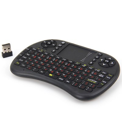 UKB - 500 Smart 2.4G German Support Wireless Keyboard with Removable Rechargeable Battey