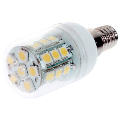 E14 27 - SMD 5050 LED 4W AC220 - 230V Warm White Corn Lamp