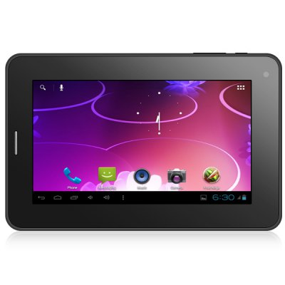Android 4.0 S26 7 inch 3G Tablet PC with A13 1GHz WVGA Screen 4GB ROM Dual Cameras